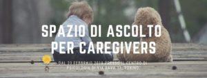 Sportello di supporto e consulenza per i caregivers